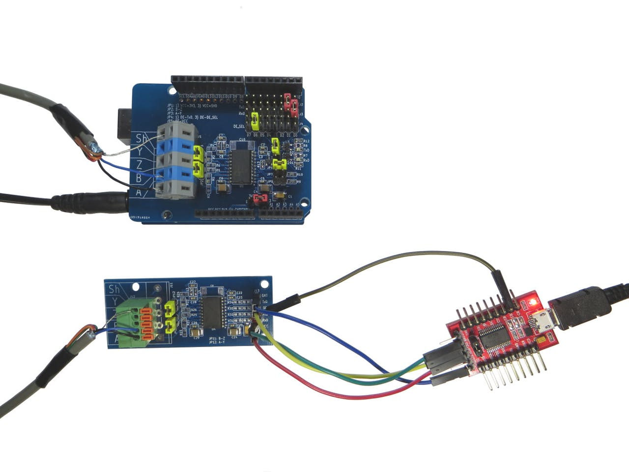 RS-485 and Arduino Uno - Hackster io