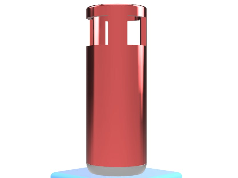 Smart LPG Cylinder Stand