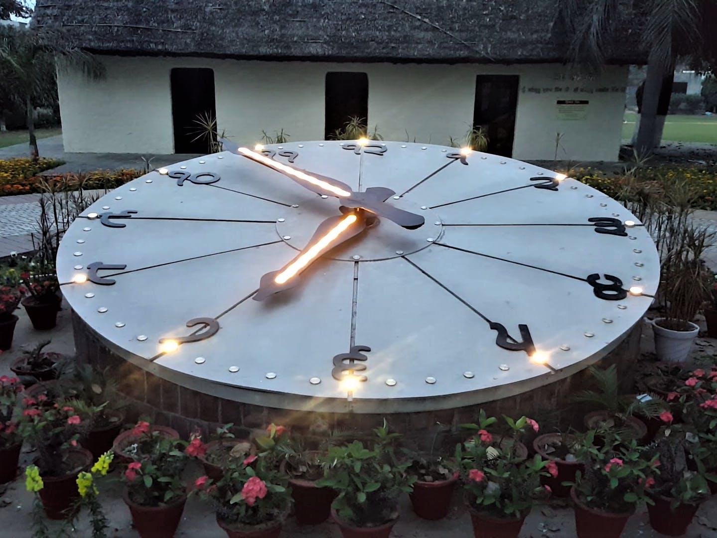 Garden Clock Project