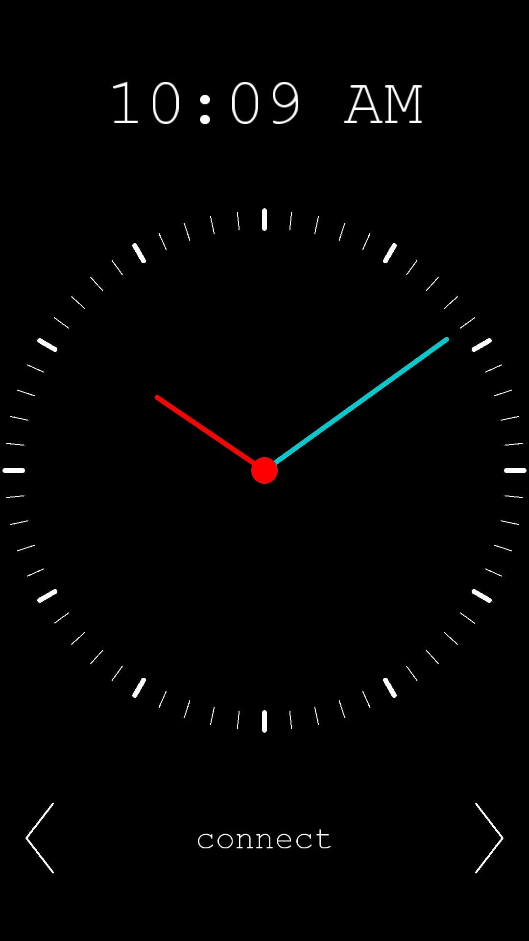 Change time from app!