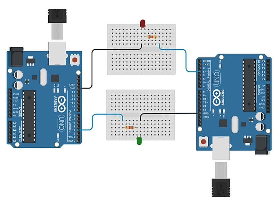 Working with 2 Arduinos
