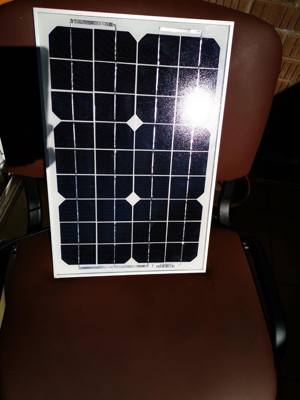 The solar panel. Look #3
