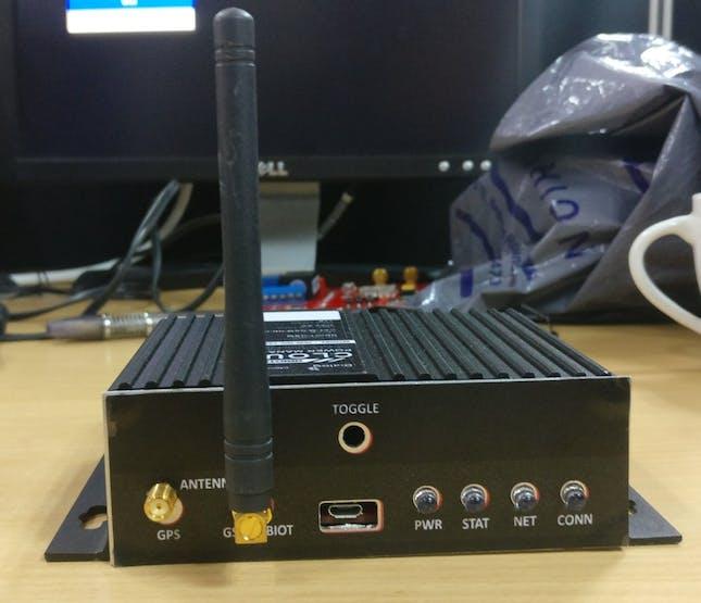 Ideamart IoT team made this Smart power socket