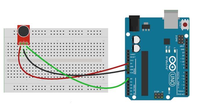 Sound sensor with arduino