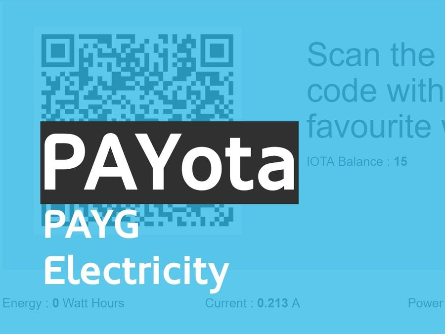 PAYota - Pay for What You Use!