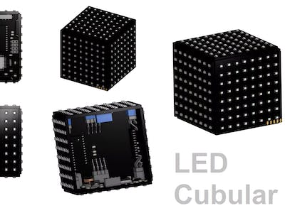 LED Cubular - LED Desktop Cube