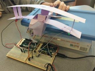 DC Motor Plane - Arduino Project Hub