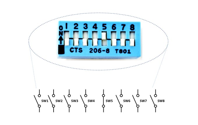 Internal Circuitry of Switch Array