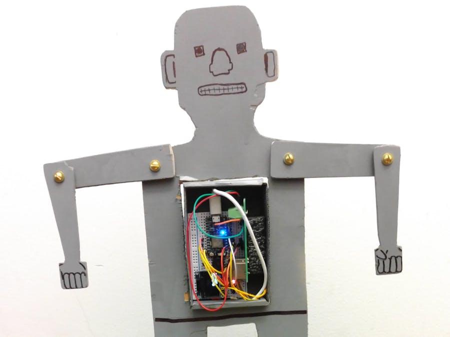 Working Herbert Televox Robot Model