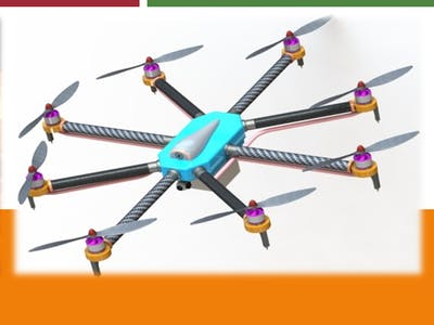 Fire Fighting Drone