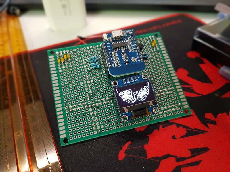 Building Your Own Game Console (ESP8266 and SSD1306)