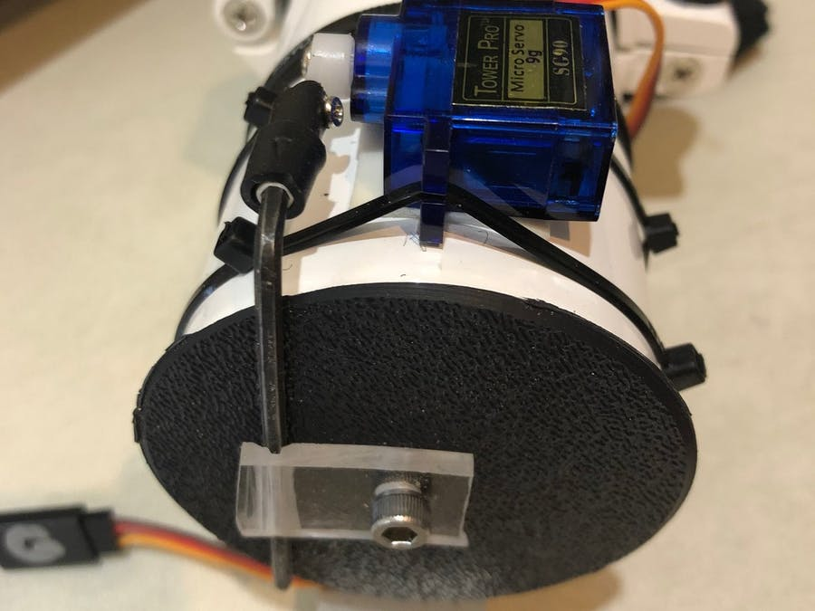 Automated Telescope Dust Cover Controller