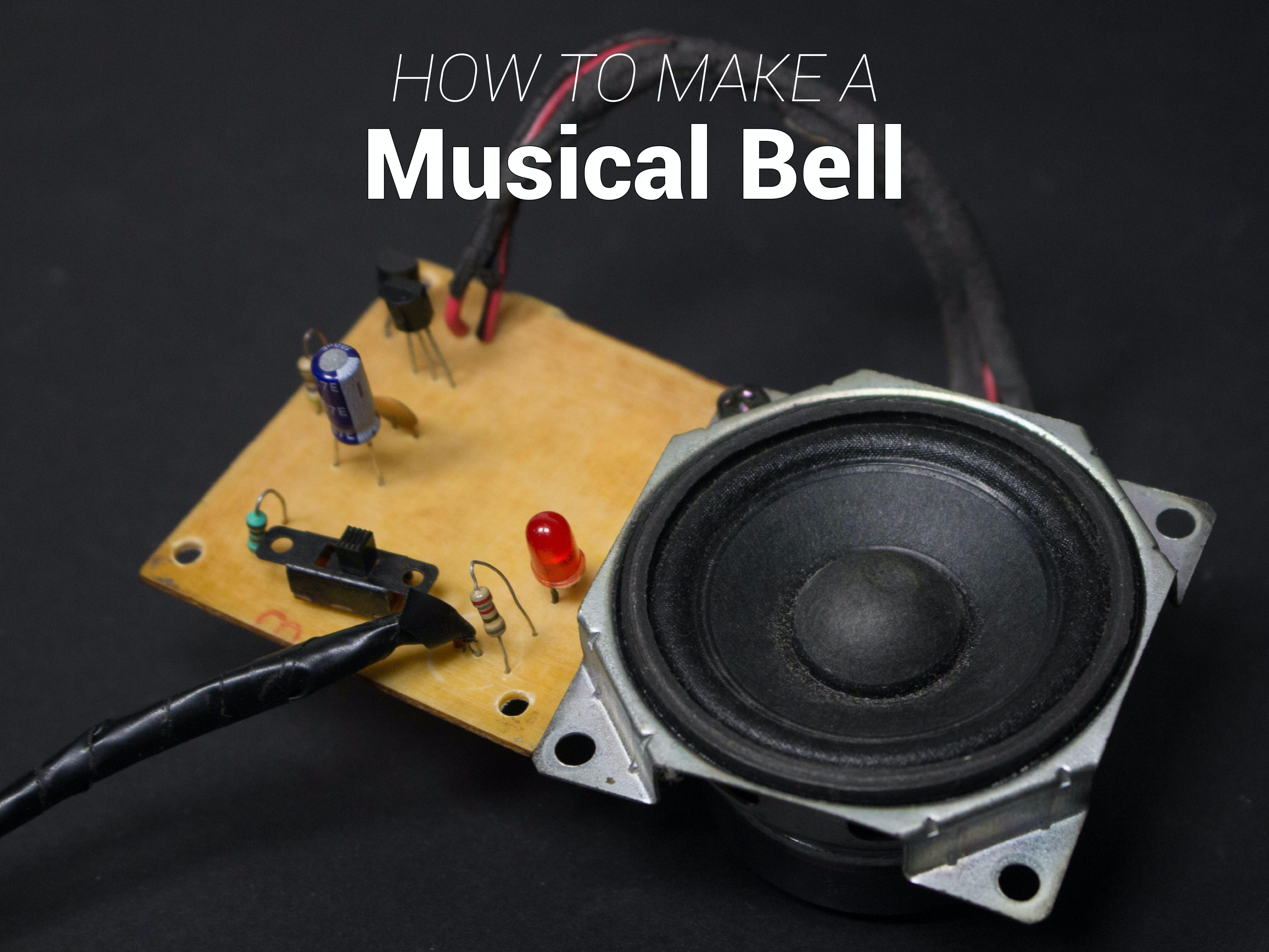 DIY Musical Bell | UM66 Melody Generator