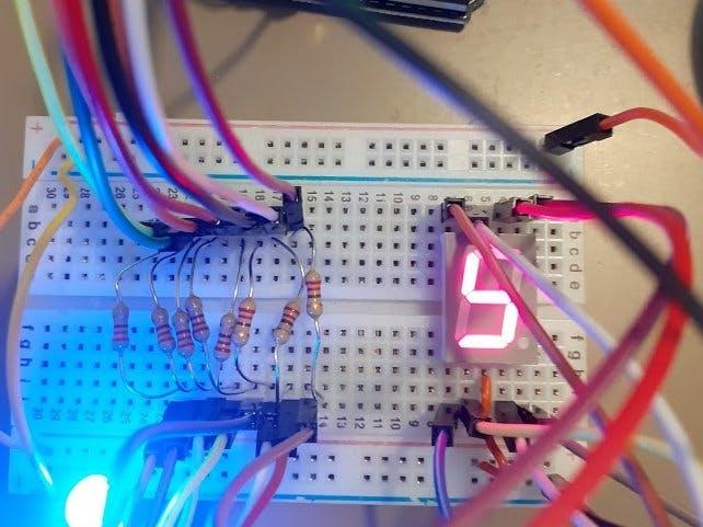 LTS-546AWC - Single Digit LED