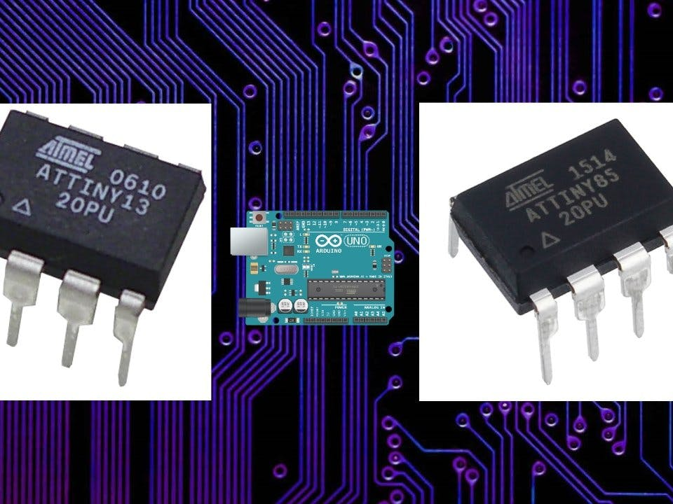 Learn How to Program ATtiny85 and ATtiny13A
