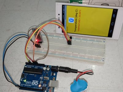 Temperature Monitoring on Smartphone