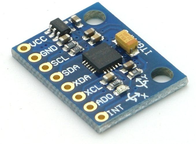 GY-521 module based on the MPU-6050 accelerometer / gyroscope