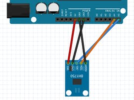 Project 017: Arduino BH1750 Light Sensor Project