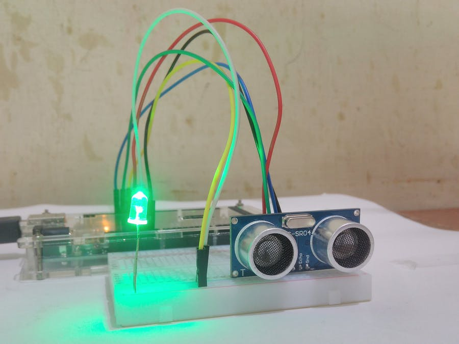 Ground Proximity Sensing with Ultrasonic Sensor