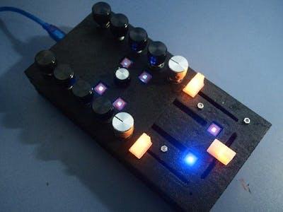 Arduino DIY DJ MIDI Controller ZX1