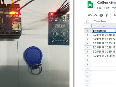 Attendance System Based on Arduino and Google Spreadsheet