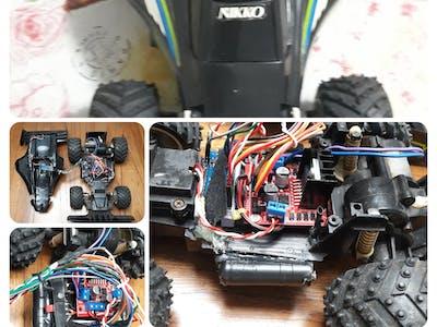Renewing the Nikko Turbo 2 RC Car