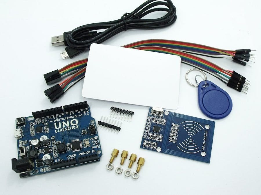 BUONO UNO R3 with RC522 RFID Reader Kit for Makers - Hackster io