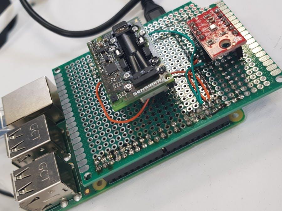 Homemade CO2 Sensor Unit