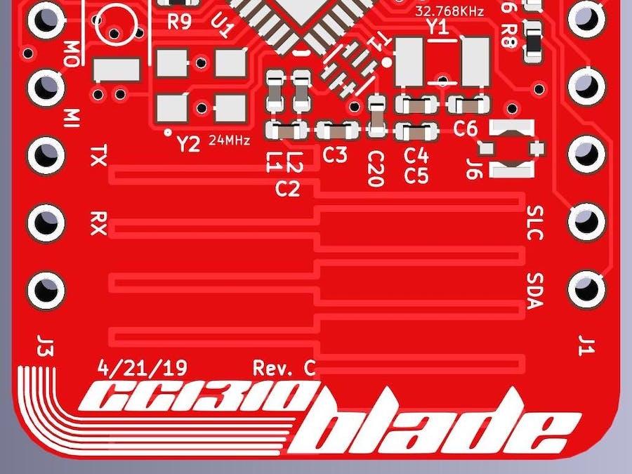 Sub-1 GHz IoT Development Board