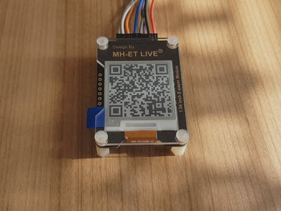 "Simple E Ink Display MH-ET LIVE 1.54"" for Your Projects"