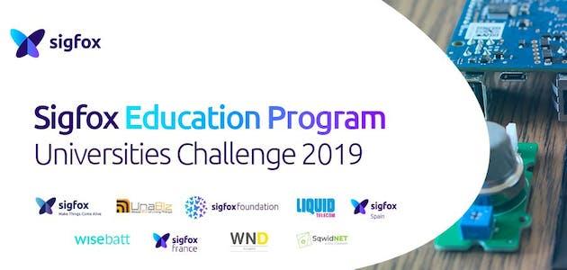 Sigfox Universities Challenge 2019