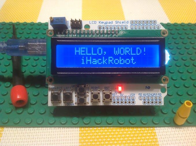 IhackRobot Hello World