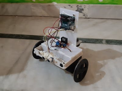 3D-Printed Arduino Obstacle Avoiding Robot