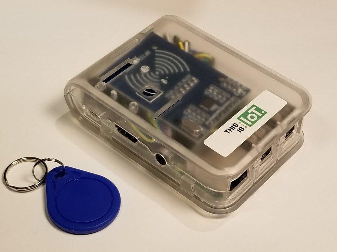 Build an RFID Scanner for Blockchain