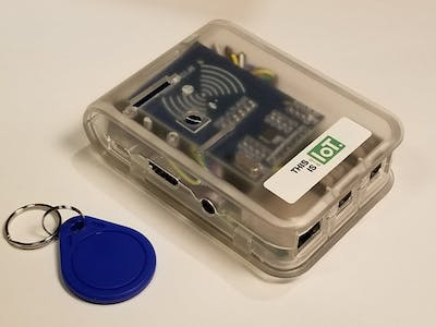 Build an RFID Scanner for Blockchain