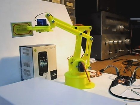 graphic relating to 3d Printable Robot identified as Arduino 3D-Posted Robot Arm - Arduino Venture Hub