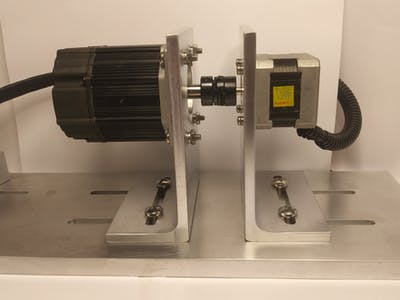 Dynamometer for Stepper Motors