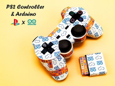 How to Interface PS2 Wireless Controller w/ Arduino