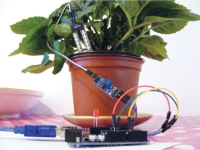 Smart Irrigation System Using Arduino Uno