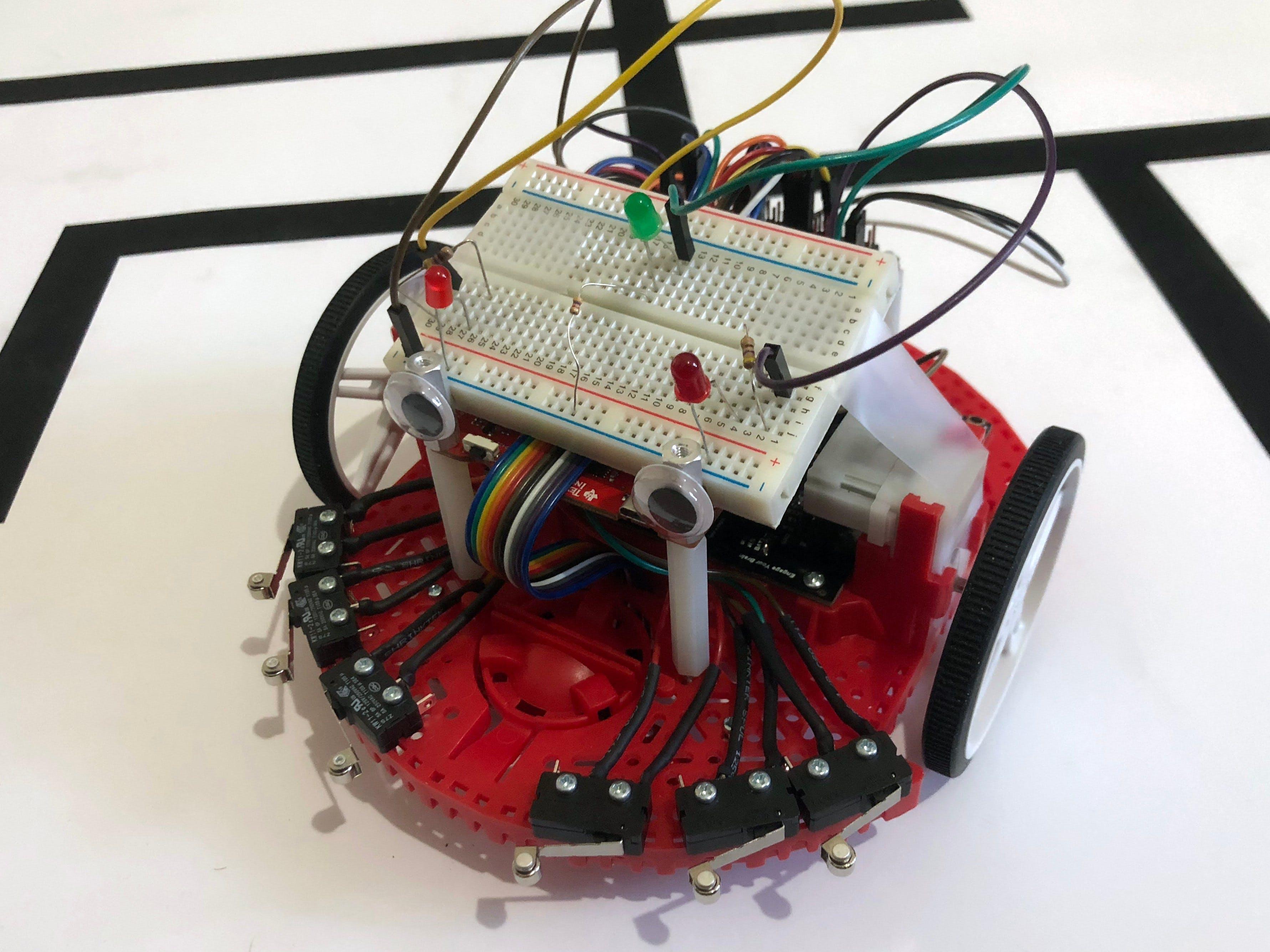 AI Maze-Solving Robot