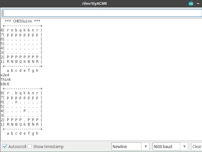 Arduino UNO MicroMax Chess