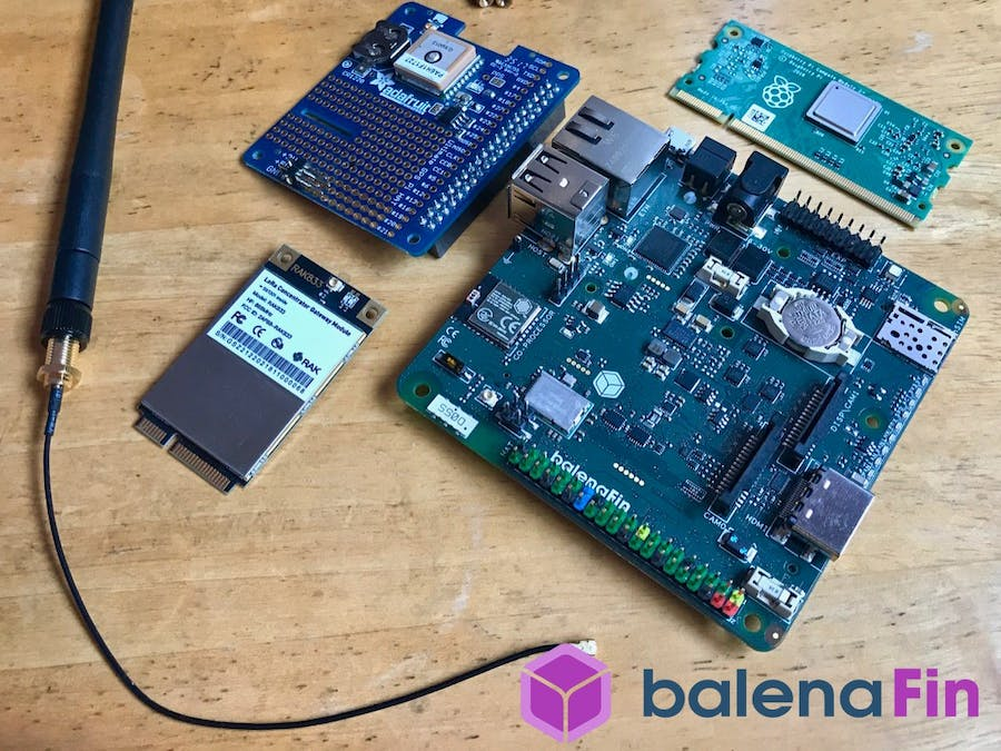 Build a TTN LoRa Gateway with balenaFin and balenaCloud