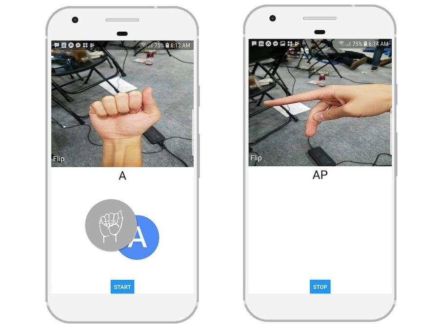 trAnSLate: American Sign Language Translator