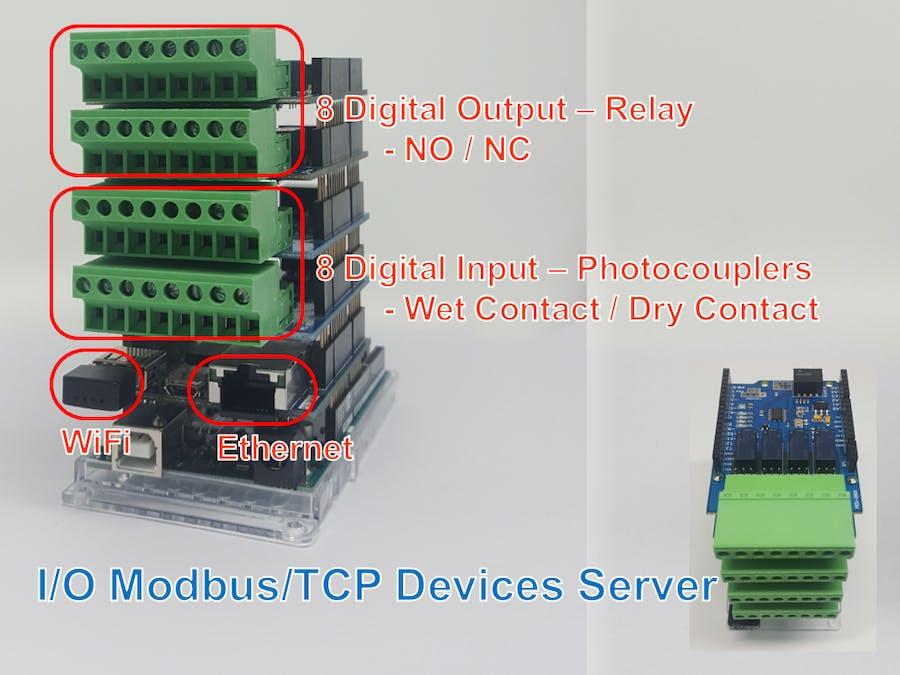 Arduino-Powered I/O Modbus/TCP Device Server - Arduino Project Hub