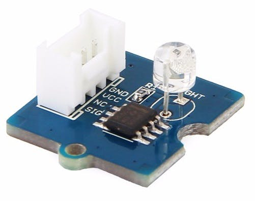 Grove light sensor