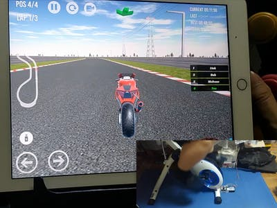 Super Diet Racing Game Bike