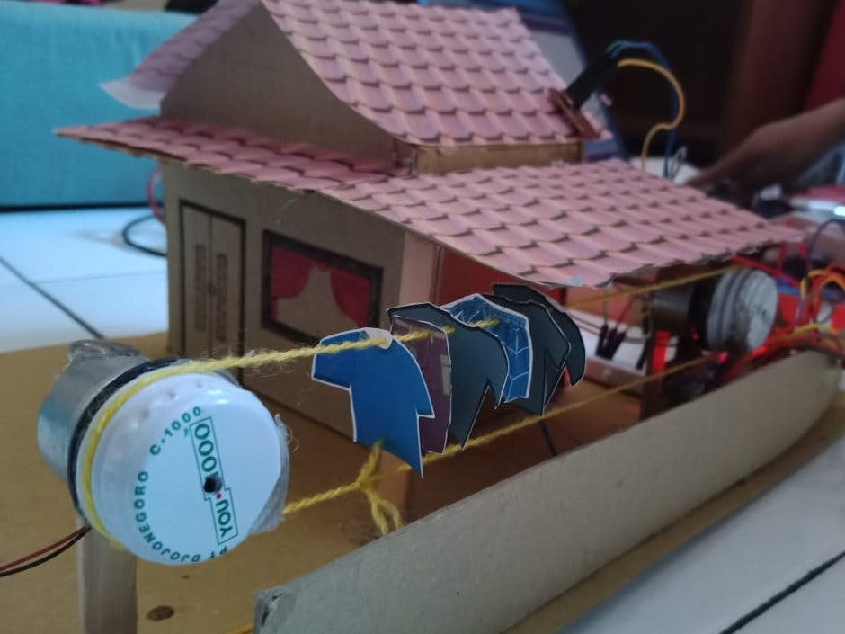 Prototype Automatic Clothesline Based on Arduino Uno