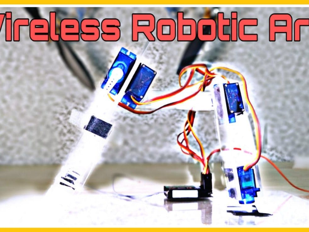 Wireless Robotic Arm