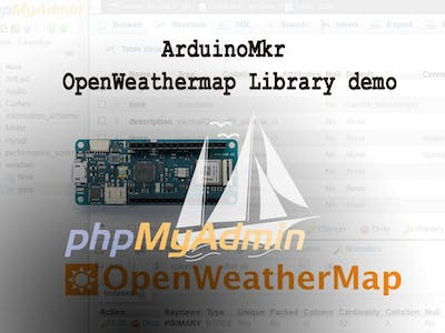 OpenWeatherMap to SQL-Database Demo