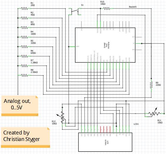 Function Generator (Sine, Triangular, Chainsaw, 32 kHz Max